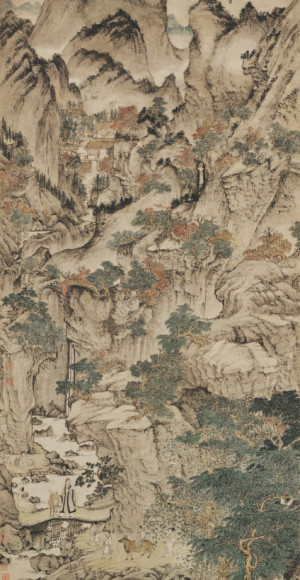 Wang Meng: Ge Zhichuan Moving to the Mountains