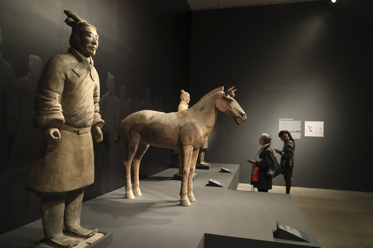 Age of Empires: Chinese Art of the Qin and Han Dynasties