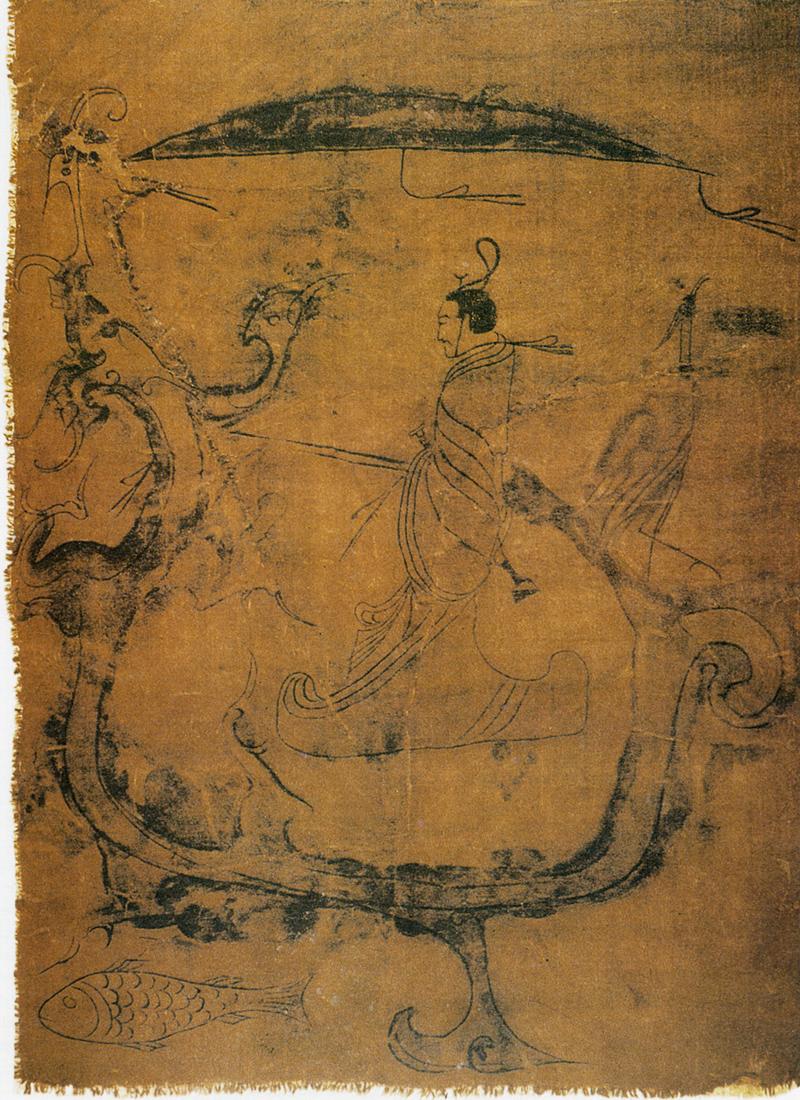 Zhou: Man Riding a Dragon