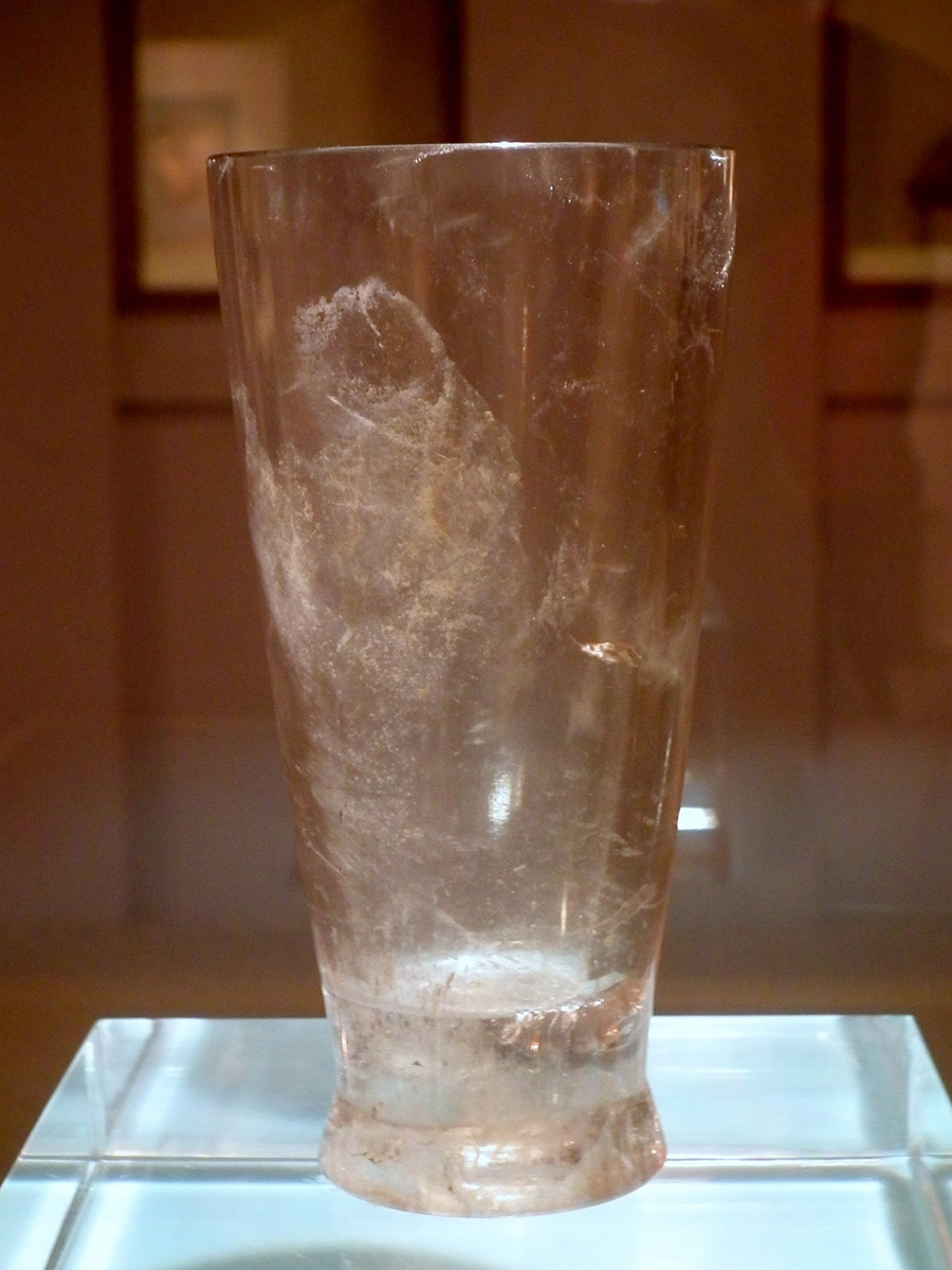 Zhou: Rock Crystal Cup
