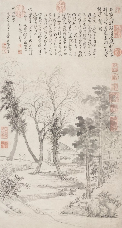 Wang Hui: Shadows of Paulownia Trees in the Autumn Evening