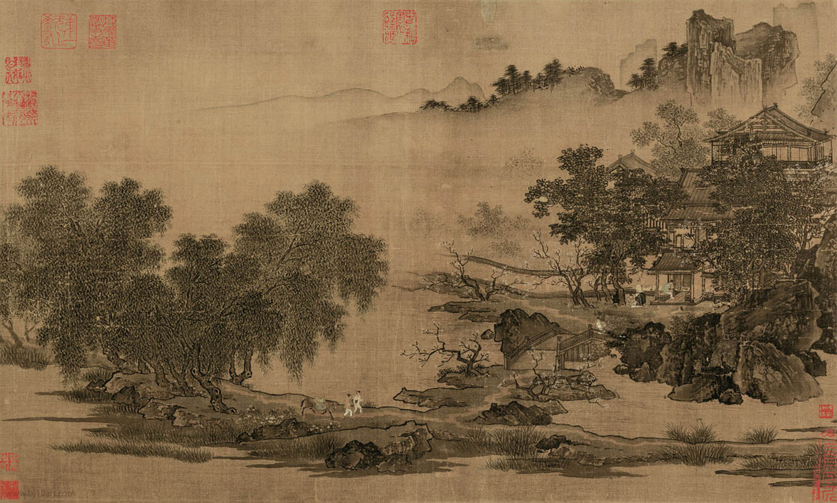 Liu Songnian Landscape Of The Four Seasons China Online