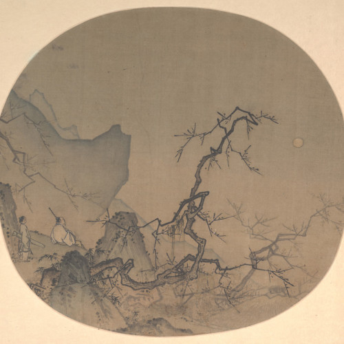Ma Yuan: Viewing Plum Blossoms by Moonlight