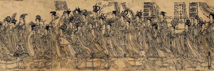 Wu Daozi: Eighty-seven Immortals