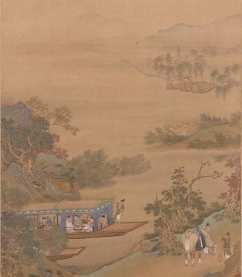 Song of Pipa at Xunyang