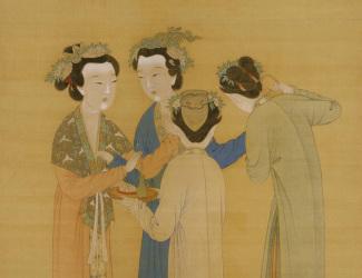 Tang Yin: Court Ladies in the Shu Palace