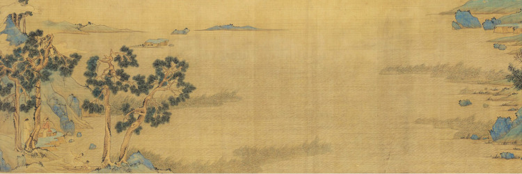 Latter Red Cliff in Zhao Bosu's Style