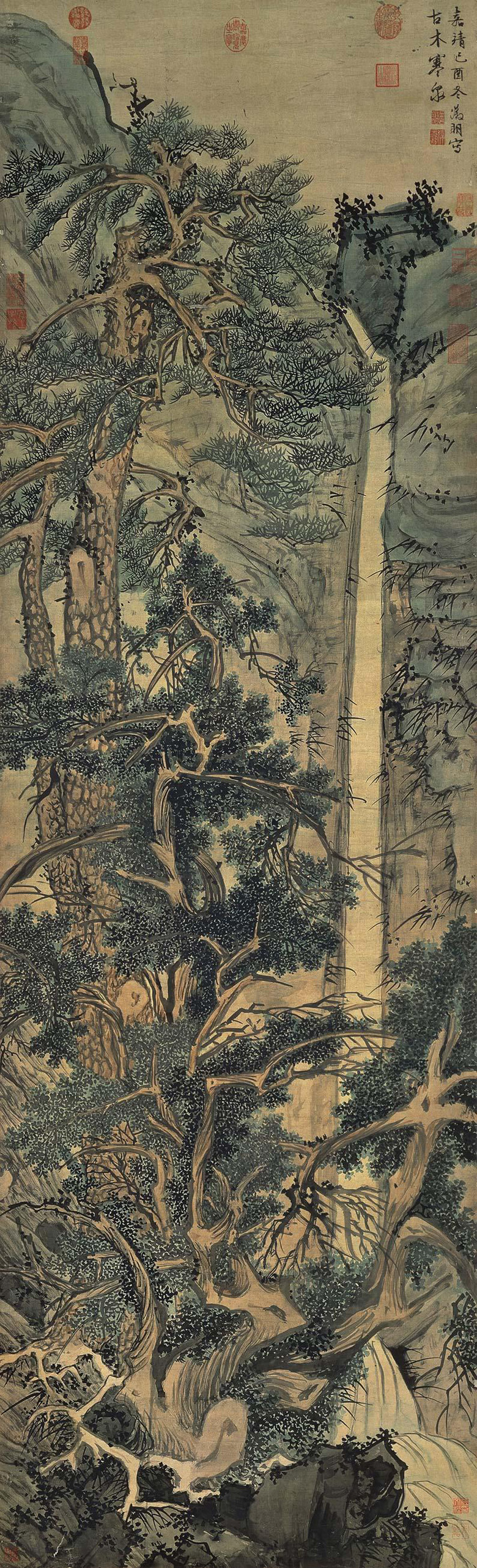 wen-zhengming_old-trees