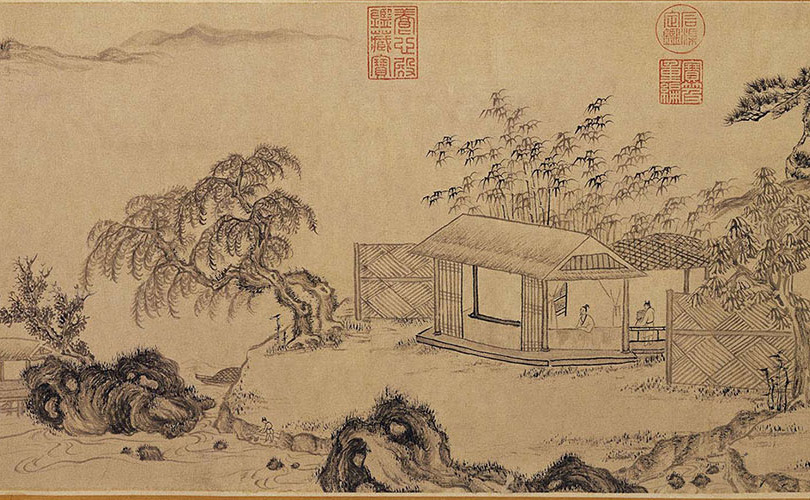 wen-zhengming_pleasure-in-solitude_painting
