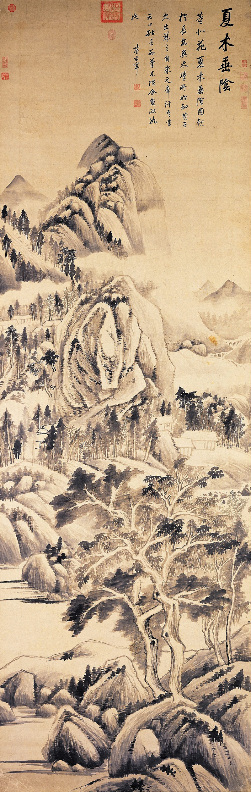 dong-qichang_shady-trees-in-a-summer-landscape