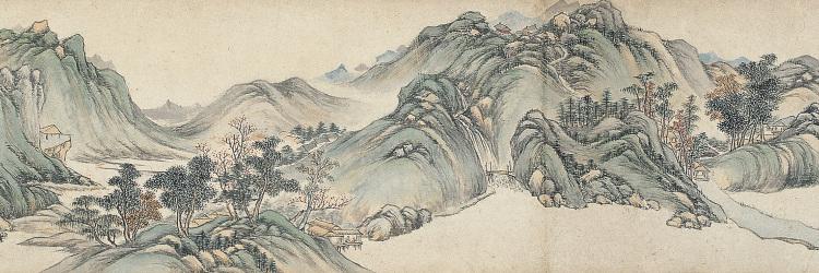 Landscape after Wu Zhen