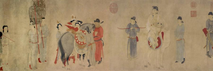 Consort Yang Mounting a Horse