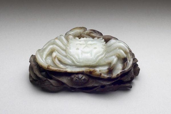 Crab on a lotus leaf, National Palace Museum