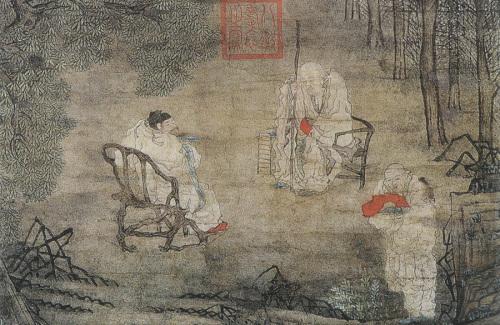 Cui Zizhong: Su Shi Losing His Girdle