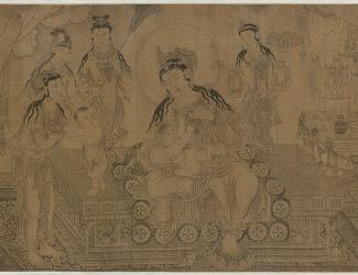 Wang Zhenpeng: Nursing the Budda