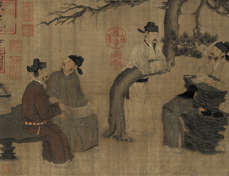 Zhou Wenju: Literary Garden