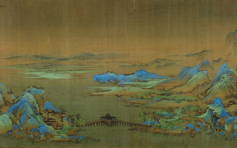 Wang Ximeng One Thousand Li Of Rivers And Mountains