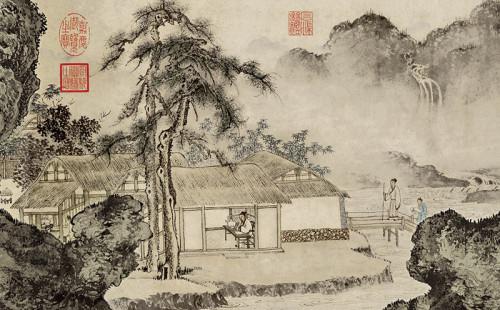 Tang Yin: Making Tea