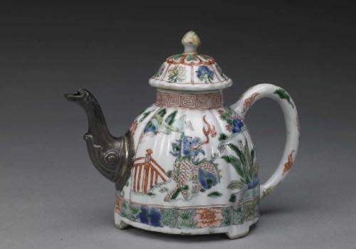 Polychrome teapot, Palace Museum, Beijing