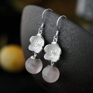 Plum-inspired Earrings