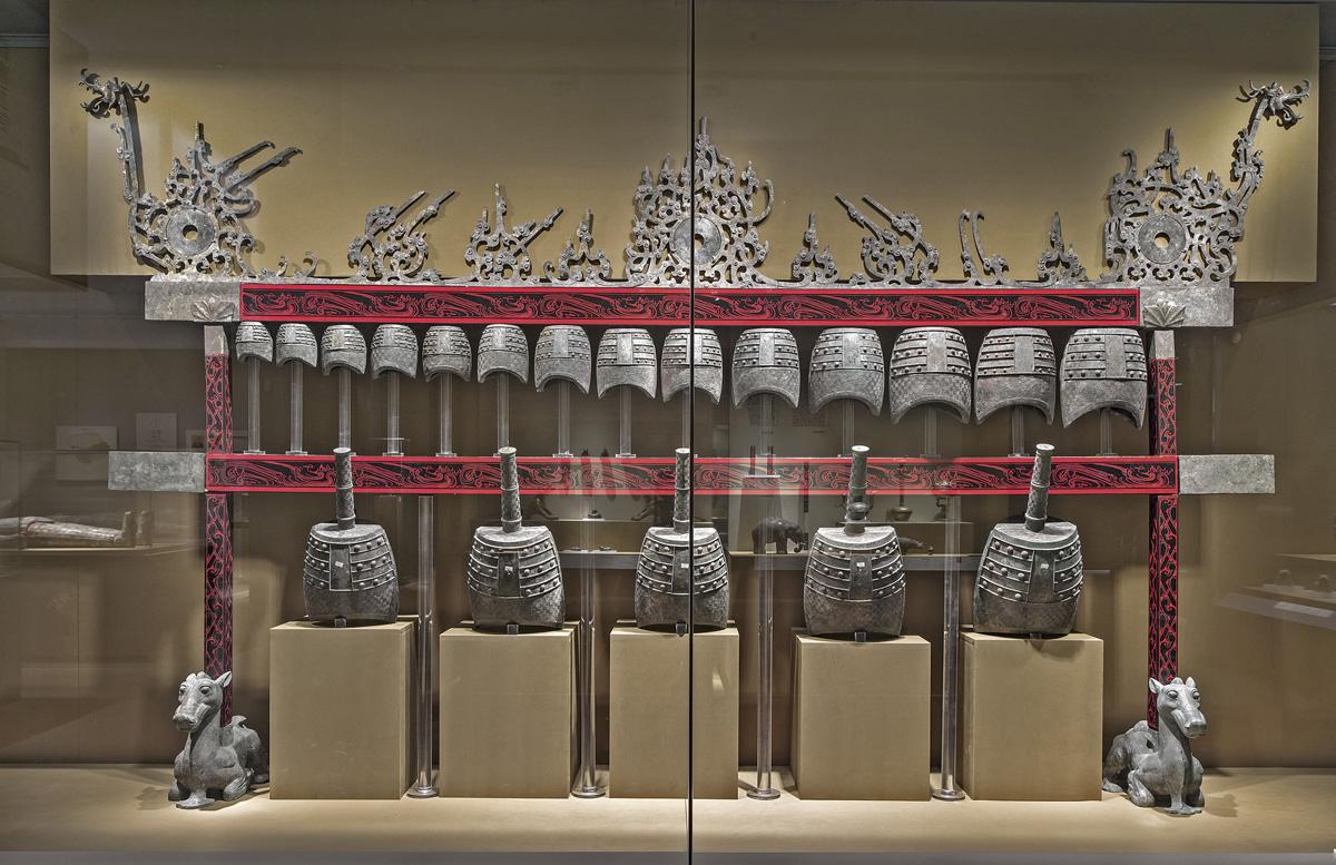 Bell set. Dayun Mountain, Xuyi, Jiangsu. Nanjing Museum.