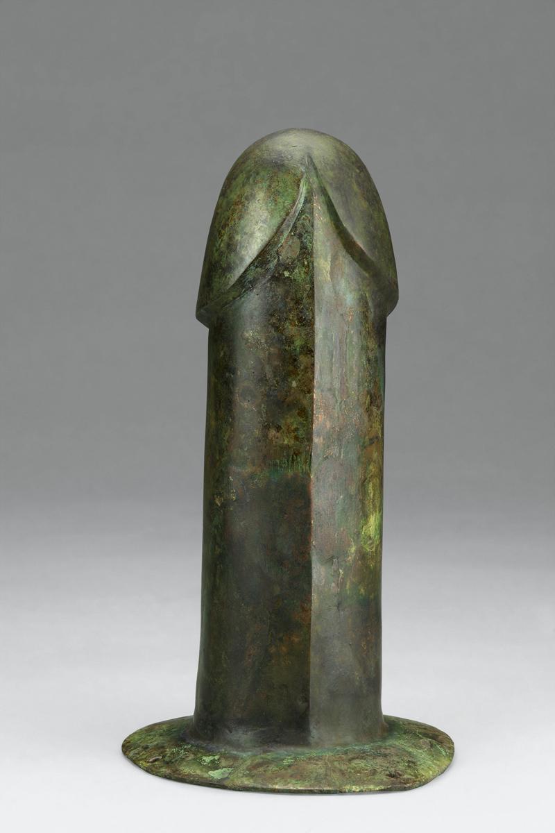 Phallus. Bronze. Tomb 1, Dayun Mountain, Xuyi, Jiangsu. Nanjing Museum.