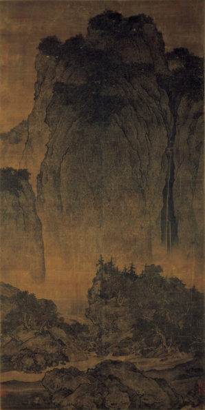 song_fan-kuan_travelers-among-mountains-and-streams