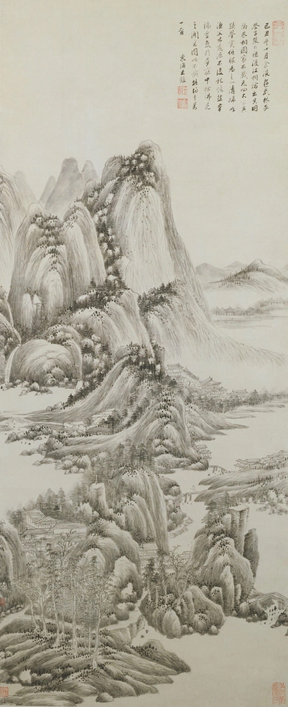 Wang Jian: After the Spirit of the Four Yuan Masters
