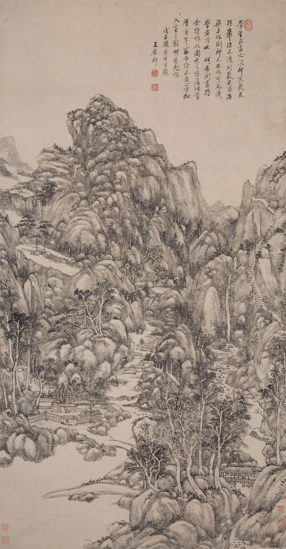 Wang Yuanqi: Robust and Vigorous Landscape